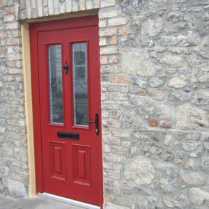 Palermo Red Composite Front Door
