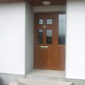 Light Oak Georgian 2 Composite Front Door