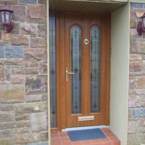 Light Oak San Marco Front Door