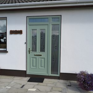 Palermo Chartwell Green Composite Front Door
