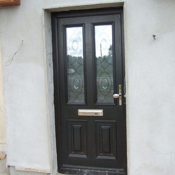 Palermo Composite Bog Oak Front Door