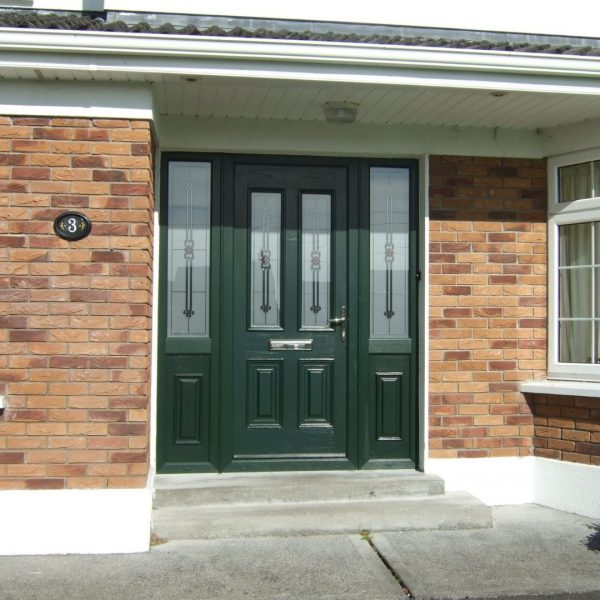 Palermo Green Composite Front Door
