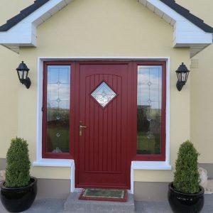 Red Edinburgh Front Door Style