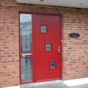 Red London Palladio Door Style