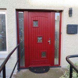 Red London Palladio Front Door
