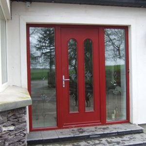 Red San Marco Composite Door