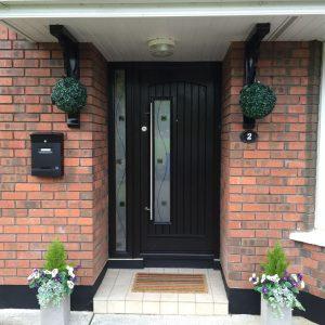 Rosewood Rome Composite Front Door