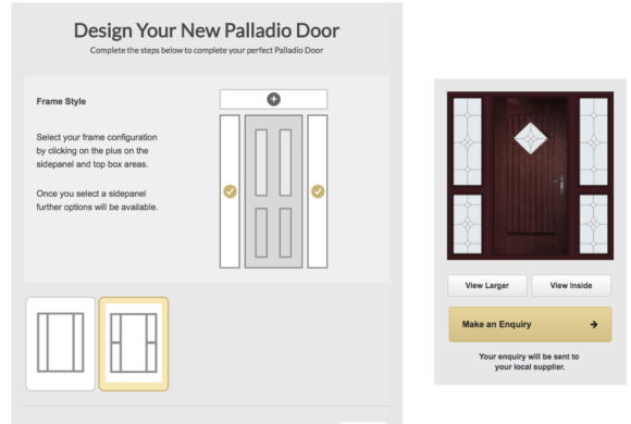 Design your Dream Composite Door from the Palladio Collection - My CMS