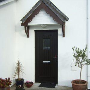 T & G Solid Composite Bog Oak Front Door