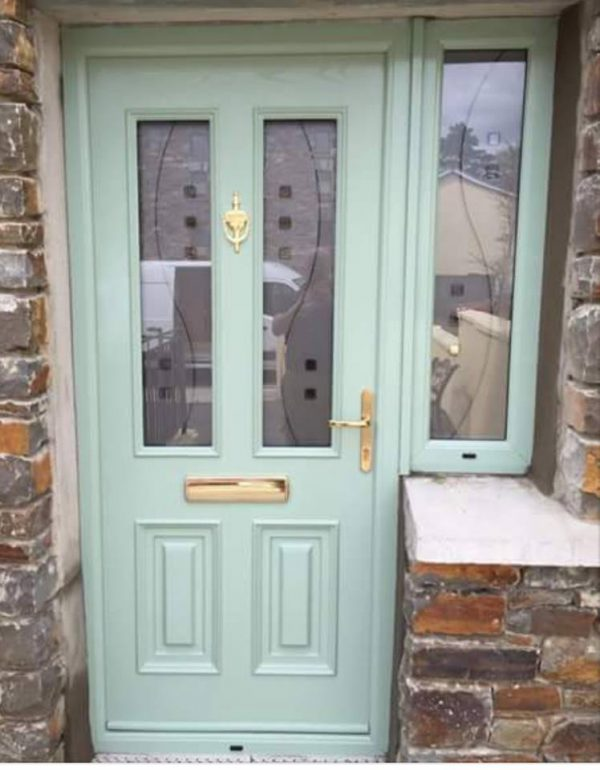 Chartwell Green Palermo Glazed Front Door
