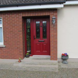 Palermo Composite Front Door In Red