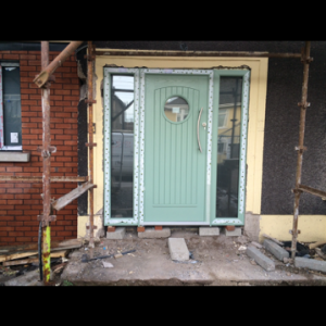Viking Secure Composite Green Front Door